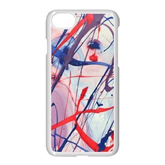 Messy Love Apple Iphone 8 Seamless Case (white)