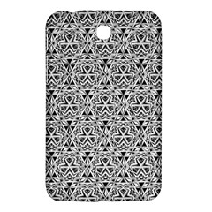 Hand Drawing Tribal Black White Samsung Galaxy Tab 3 (7 ) P3200 Hardshell Case  by Cveti