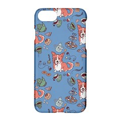 Dog Corgi Pattern Apple Iphone 8 Hardshell Case by Celenk