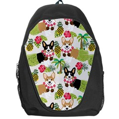 Hula Corgis Fabric Backpack Bag by Celenk