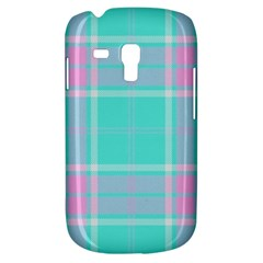 Blue And Pink Pastel Plaid Galaxy S3 Mini by allthingseveryone