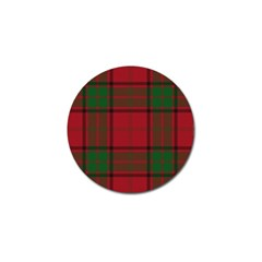 Red And Green Tartan Plaid Golf Ball Marker (4 Pack) by allthingseveryone