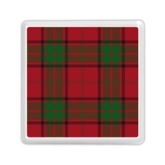 Red And Green Tartan Plaid Memory Card Reader (square)  by allthingseveryone