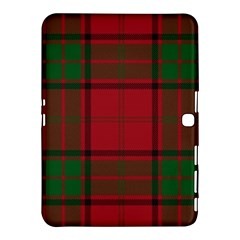 Red And Green Tartan Plaid Samsung Galaxy Tab 4 (10 1 ) Hardshell Case  by allthingseveryone