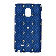 Funny Little Skull Pattern, Blue Galaxy Note Edge by MoreColorsinLife