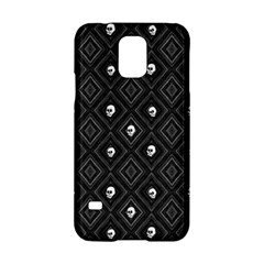 Funny Little Skull Pattern, B&w Samsung Galaxy S5 Hardshell Case  by MoreColorsinLife