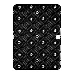 Funny Little Skull Pattern, B&w Samsung Galaxy Tab 4 (10 1 ) Hardshell Case  by MoreColorsinLife