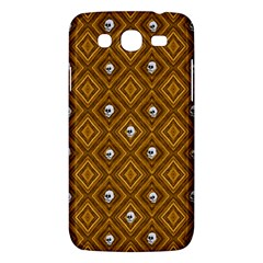 Funny Little Skull Pattern, Golden Samsung Galaxy Mega 5 8 I9152 Hardshell Case  by MoreColorsinLife