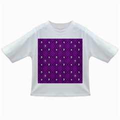Funny Little Skull Pattern, Purple Infant/toddler T Shirts by MoreColorsinLife