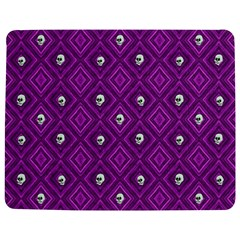 Funny Little Skull Pattern, Purple Jigsaw Puzzle Photo Stand (rectangular) by MoreColorsinLife