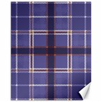 Purple Heather Plaid Canvas 11  x 14   14 x11 Canvas - 1