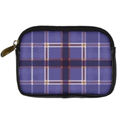 Purple Heather Plaid Digital Camera Cases by allthingseveryone