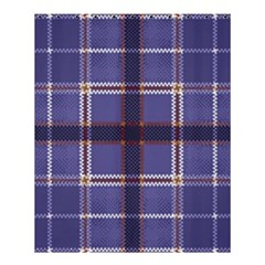 Purple Heather Plaid Shower Curtain 60  X 72  (medium)  by allthingseveryone