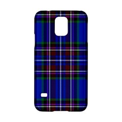 Bright Blue Plaid Samsung Galaxy S5 Hardshell Case  by allthingseveryone