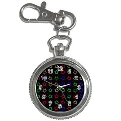 Spray Stars Pattern A Key Chain Watches by MoreColorsinLife