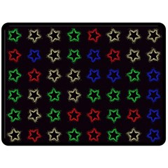 Spray Stars Pattern A Fleece Blanket (large)