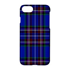 Bright Blue Plaid Apple Iphone 8 Hardshell Case by allthingseveryone