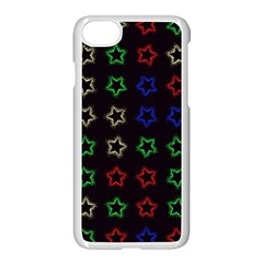 Spray Stars Pattern A Apple Iphone 8 Seamless Case (white)