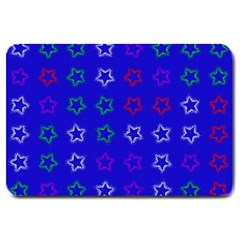 Spray Stars Pattern E Large Doormat  by MoreColorsinLife