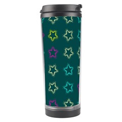 Spray Stars Pattern F Travel Tumbler by MoreColorsinLife