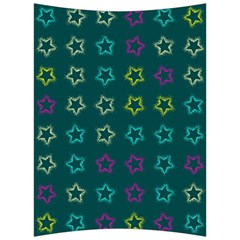 Spray Stars Pattern F Back Support Cushion by MoreColorsinLife