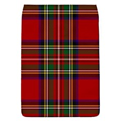 Red Tartan Plaid Flap Covers (s)  by allthingseveryone