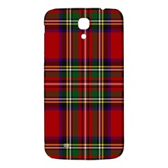 Red Tartan Plaid Samsung Galaxy Mega I9200 Hardshell Back Case by allthingseveryone