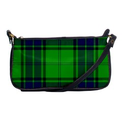 Green And Blue Plaid Shoulder Clutch Bags by allthingseveryone