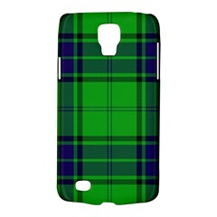 Green And Blue Plaid Galaxy S4 Active by allthingseveryone