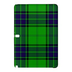 Green And Blue Plaid Samsung Galaxy Tab Pro 10 1 Hardshell Case