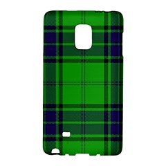 Green And Blue Plaid Galaxy Note Edge by allthingseveryone