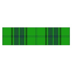 Green And Blue Plaid Satin Scarf (oblong) by allthingseveryone