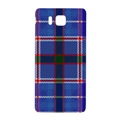 Blue Heather Plaid Samsung Galaxy Alpha Hardshell Back Case by allthingseveryone