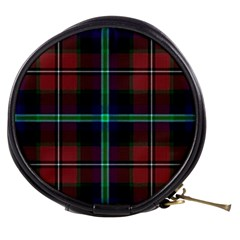 Purple And Red Tartan Plaid Mini Makeup Bags by allthingseveryone