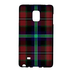 Purple And Red Tartan Plaid Galaxy Note Edge by allthingseveryone