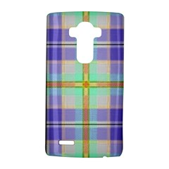 Blue And Yellow Plaid Lg G4 Hardshell Case by allthingseveryone