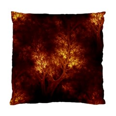 Artsy Brown Trees Standard Cushion Case (two Sides) by allthingseveryone