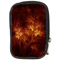 Artsy Brown Trees Compact Camera Cases by allthingseveryone