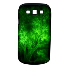 Artsy Bright Green Trees Samsung Galaxy S Iii Classic Hardshell Case (pc+silicone) by allthingseveryone