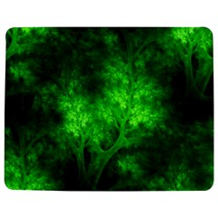 Artsy Bright Green Trees Jigsaw Puzzle Photo Stand (rectangular) by allthingseveryone