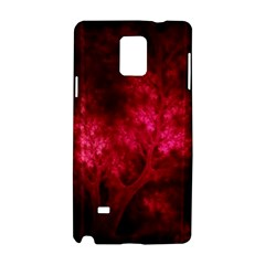 Artsy Red Trees Samsung Galaxy Note 4 Hardshell Case