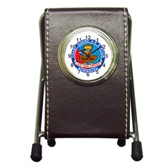 Coast Guard Air Station Borinquen Puerto Rico Pen Holder Desk Clocks by allthingseveryday