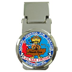 Coast Guard Air Station Borinquen Puerto Rico Money Clip Watches by allthingseveryday