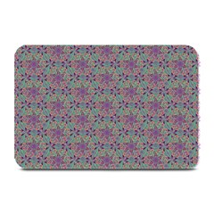 Flower Kaleidoscope Hand Drawing 2 Plate Mats by Cveti
