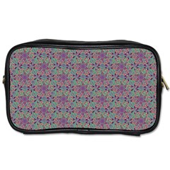 Flower Kaleidoscope Hand Drawing 2 Toiletries Bags 2 Side by Cveti
