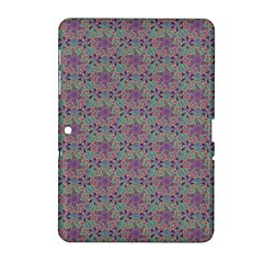 Flower Kaleidoscope Hand Drawing 2 Samsung Galaxy Tab 2 (10 1 ) P5100 Hardshell Case  by Cveti