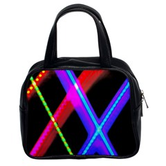 Xmas Light Paintings Classic Handbags (2 Sides)