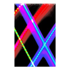 Xmas Light Paintings Shower Curtain 48  X 72  (small)  by Celenk