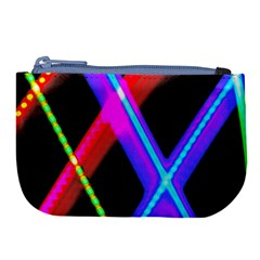 Xmas Light Paintings Large Coin Purse