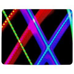 Xmas Light Paintings Jigsaw Puzzle Photo Stand (rectangular) by Celenk